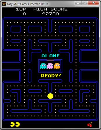 Lazy Mutt Games: Pacman-Retro Arcade Game