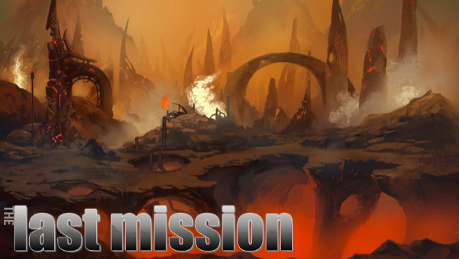 The Last Mission Concept Art Series: What happened here?